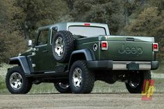 2015 Jeep Gladiator - is a way of life pick-up with all the ability of the famous Wrangler. It is a genuine statement of Jeep brand name ancestry, showcas Jeep Wranglers, Jeep Wrangler 2015, Jeep Wrangler Diesel, 2012 Jeep, Wrangler Unlimited, Wrangler Rubicon, New Jeep Pickup, Jeep Wrangler Pickup Truck, Pickup Trucks