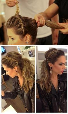 Messy but cute pony tail bridesmaid hair, prom hair, hair hacks, office hairstyles Tips Belleza, Great Hair, Awesome Hair, Hair Day, Weekend Hair, Gorgeous Hair, Pretty Hairstyles, Simple Hairstyles, Low Pony Hairstyles