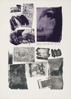Artist Robert Rauschenberg Medium Lithograph on paper Dimensions Image: 803 x 584 mm Collection Tate Acquisition Purchased 1985 Robert Rauschenberg, Tachisme, Joan Mitchell, Richard Diebenkorn, Camille Pissarro, Mark Rothko, Pop Art Movement, Modern Pop Art, Jasper Johns