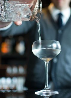 The Tuxedo: There are a dozen or so sherry and gin drinks that start to pop up during the twilight years of the 19th century and repeat themselves with very slight variations throughout. This is the best and most well-known.