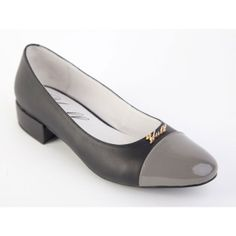Smart, stylish and practical. These slightly healed shoes are ideal for the times when you just can't wear heels.  Made in London, UK  http://www.madecloser.co.uk/clothes-accessories/footwear/cambridge-flat-grey  #ukmade #madecloser