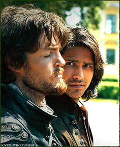 Tom Burke as Athos in The Musketeers. Image courtesy of the BBC
