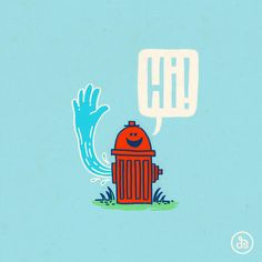 The Friendly Hydrant