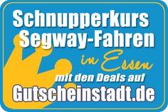 Mit Glück einen #Schnupperkurs mit dem #Segway buchen in #Essen mit #Gutscheinstadt