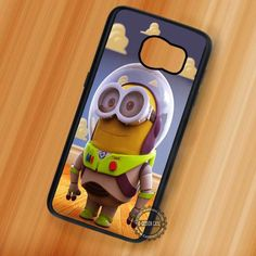 Minion Disney Toy Story Despicable Me Buzz Lightyear - Samsung Galaxy S7 S6 S5 Note 7 Cases & Covers
