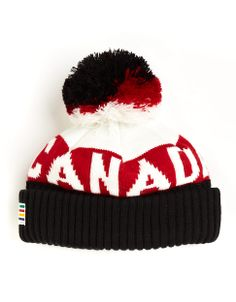 Sochi 2014 Team Canada Tuque Sports Uniforms, Sports Teams, I Am Canadian, Black And White Theme, Canada Eh, Funky Fashion, Cool Hats, Winter Olympics, Keep Warm