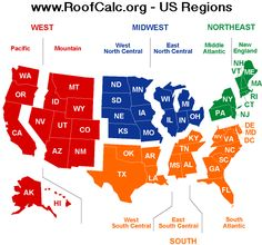 Nice map of US regions - Divided into 4 overall regions, then sub-divided into smaller regions. States And Capitals, United States Map, 50 States, Ap Human Geography, World Geography, 4th Grade Social Studies, Teaching Social Studies, Us Regions, Mental Map