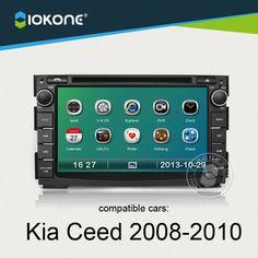 IOKONE Car Video Player for Kia Ceed 2008 2009 2010 With autoRadio,Bluetooth,GPS navi,Steering Wheel Control headunit system