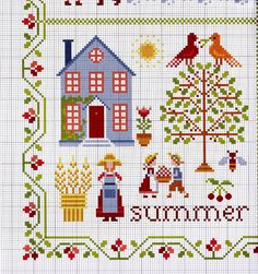 New home sweet hom cross stitch punto croce free pattern ideas Cross Stitch House, Cross Stitch Samplers, Cross Stitch Charts, Cross Stitch Designs, Cross Stitching, Cross Stitch Embroidery, Embroidery Patterns, Hand Embroidery, Cross Stitch Patterns
