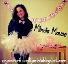 Dulce Minnie: Kit para Imprimir Gratis.