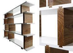 Dovetail Shelving Unit — Bookcases -- Better Living Through Design