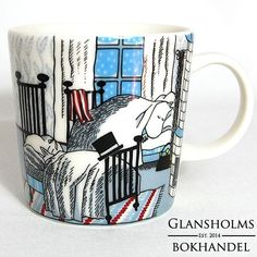 Antikvarat: Annons - -Mugg från 2015 i nyskick Tove Jansson, Moomin, Illustration Art, Illustrations, Finland, My Eyes, Drawings, Mini, Cozy