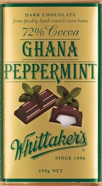 Whittakers - Peppermint - yum!
