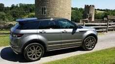 range rover evoque grey