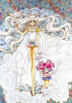 Sailor Cosmos-Original Sailor Moon Art Work By Naoko Takeuchi