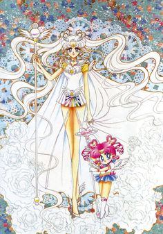 Sailor Cosmos-Original Sailor Moon Art Work By Naoko Takeuchi