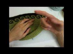 ▶ How to Crochet 13: Tapestry crochet - YouTube
