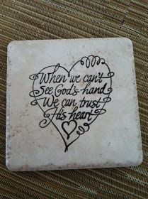 When we can't see God's hand, delightful creations: DIY Tile Coasters Tile Crafts, Vinyl Crafts, Tile Projects, Vinyl Projects, Craft Gifts, Diy Gifts, How To Make Tiles, Diy Coasters, Tile Art