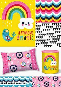 Print and Pattern Blog  katkalindiameron_magicrainbows+surtex+flyer.jpg 400×567 pixels