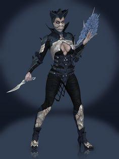 Kitana (Dark Empress) from Mortal Kombat X Property of NetherRealm Studios and Warner Bros. Mortal Kombat Costumes, Mortal Kombat X, Free Images, Video Games, Batman, Cosplay, Deviantart, Superhero, Photo And Video