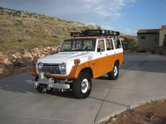 "1967 — Production of the FJ55 began. The FJ55 was a 4-door station wagon version based on the FJ40's Drive-train, replacing the 4-Door FJ45V (I). It was colloquially known as the ""Moose"". It has also been referred to as a ""pig"" or an ""iron pig"". The FJ55 had a longer wheelbase 2700 mm and was designed to be sold in North America and Australia. https://www.facebook.com/LandCruiserWorld #fj55 #toyota #landcruiser #ironpig #4x4 #offroad"
