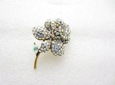 aurora borealis calla lily pin/ aurora by TreasureTrovebyTish, $14.52