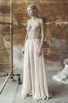 Aureliana is a fashion designer brand which creates fantastical fashion for modern-day heroines who need a wardrobe that enchants and empowers. Bridesmaid Dresses, Wedding Dresses, Summer Collection, Corset, Branding Design, Spring Summer, Gowns, Modern, Fashion Design