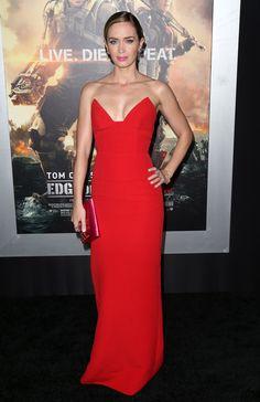 Emily Blunt in Prado - Edge of Tomorrow premier in new york