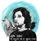 Characters from Game of Thrones and other things. Collection on Society6.