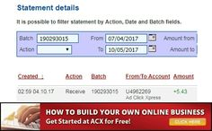 Making money at AdClickXpress represent lots of fun and I manage to cover my Low Salary Income by Working Online from Home less than 10 minutes per day! This is my withdrawal proof from the money I earned at ACX. If you are a PASSIVE INCOME SEEKER, then AdClickXpress is the best ONLINE OPPORTUNITY for you. Sign Up here:http://bit.ly/2w1Ozkf