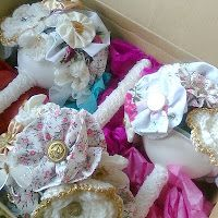 Fun Crochet and Fabric Bouquets