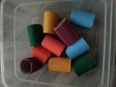Sensory - DIY Sensory Toilet Paper Roll