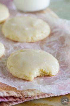 Recipe for Sour Cream Cookies