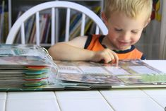 I wrote this post, Making Everyday Homeschool Moments Special, for Sonlight Curriculum . While looking through a family photo album rece. Preschool Curriculum, Homeschool, Preschool Learning, Teaching, Parts Of A Seed, Homemade Musical Instruments, Five In A Row, Family Photo Album, Last Day Of School