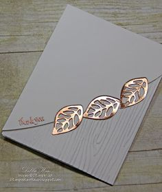 This card is inspired by a card I saw on Pinterest — it didn't use Stampin' Up! product but I knew I could make it with my SU supplies.  I l...