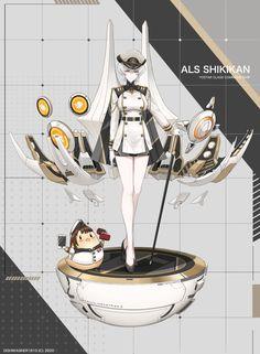 ArtStation - Shikikan , Bach Do Character Concept, Character Art, Character Design, Female Characters, Anime Characters, Boat Girl, Anime Military, Anime Weapons, Weapon Concept Art