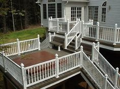 deck railing...yes or no? white?