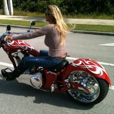 Steel Cowgirl during the 2011 Annual Bikers for Babies Ride #bikersforbabies #grizzlyharley #marchofdimes