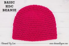 Charmed By Ewe Free Basic Beanie Crochet Pattern (1)
