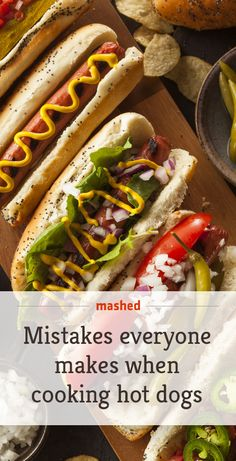 Hot dogs aren't as simple as you think! Use these tricks to make them even better! #hotdogs #grill #grilling #cookout