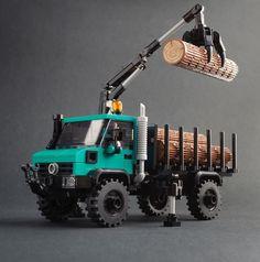 Micro Lego, Lego Truck, Lego Sculptures, Mercedes Benz Unimog, Lego System, Lego Room, Cool Lego Creations, Lego Design, Lego Bionicle