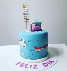 30th Birthday Cake For Women, 16 Birthday Cake, Farewell Cake, Aladdin Cake, School Cake, Travel Cake, Fondant Figures, Party Cakes, Dessert Table