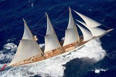 SY Adix - www. Luxury Sailing Yachts, Luxury Yachts For Sale, Yacht For Sale, Classic Yachts, Super Yachts, Sea And Ocean, Tall Ships, Catamaran, Sailing Ships