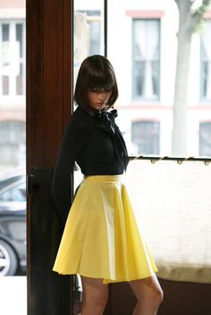 a circle skirt tutorial from burdastyle