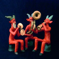 Clay Faces, Mexican Folk Art, Clay Art, Magick, Handicraft, Art Inspo, Devil, Religion, Sculpture