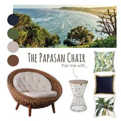 Indulge with the comfort of our Papasan Chair. Pair with earthy colour palette accessories to bring nature's relaxing ambiance home.