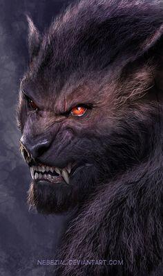 Werewolf by nebezial on deviantART