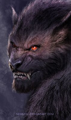 Werewolf by nebezial on deviantART