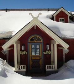 Little Swedish House in Aspen, CO.  Beautiful interior.