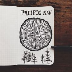 Super quick sketch tonight. Showing a little love to the PNW. Credit to Steelbison